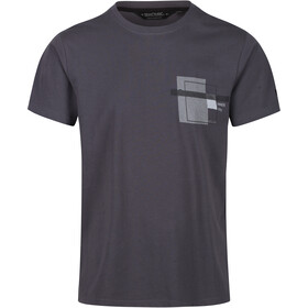 Regatta Cline IV T-Shirt Heren, seal grey marl